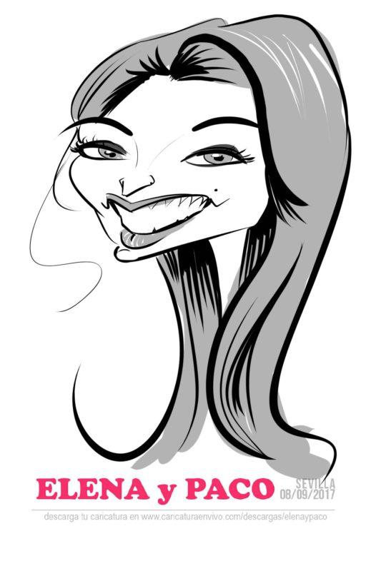 caricatura sobre tablet sevilla 3