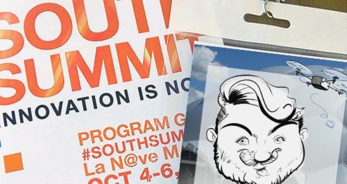 Animación de stand con caricaturas