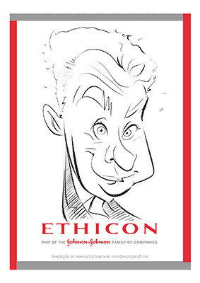 Caricatura Digital Bilbao Congreso 8