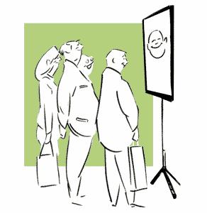 caricatura pantalla ilustracion peq